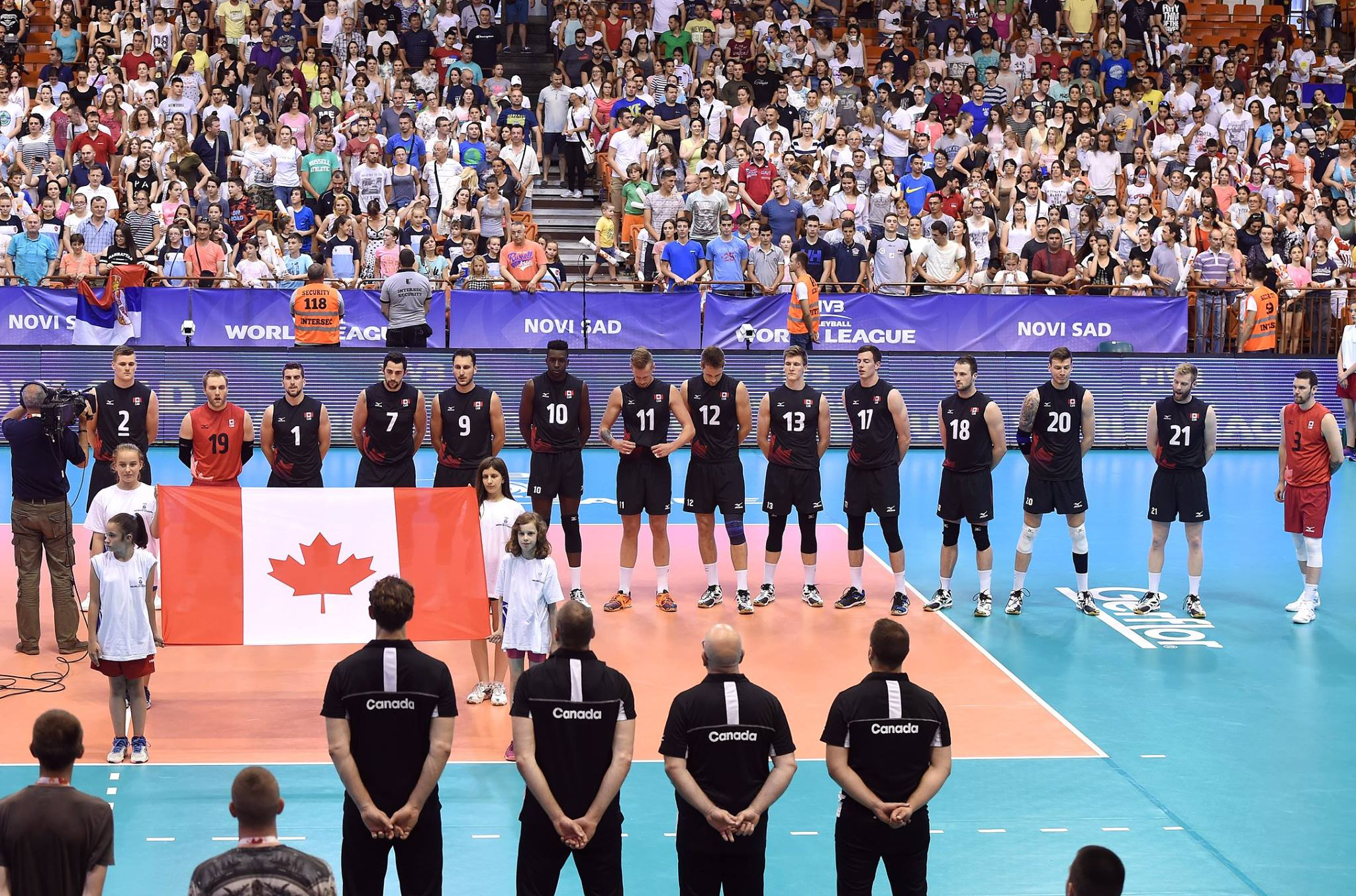 Canada FIVB Volleyball World League Matches: June 2 - 4, 2017