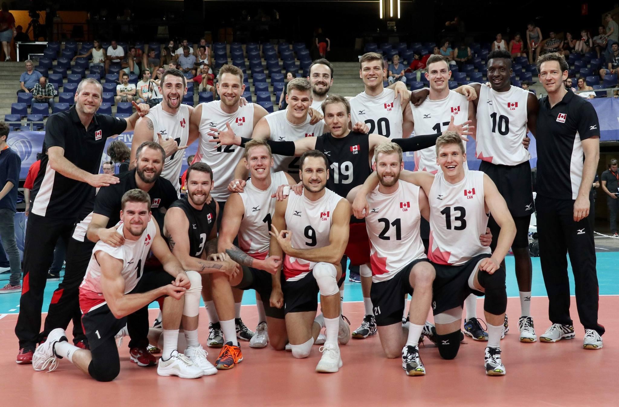 Team Canada Men's Volleyball