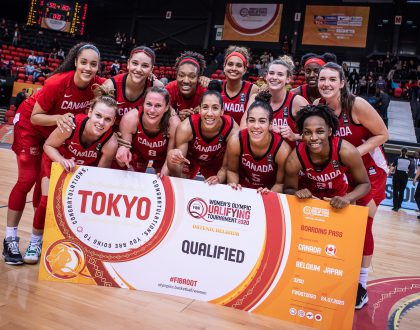 FIBA Women's Olympic Qualifying Tournament – Team Canada