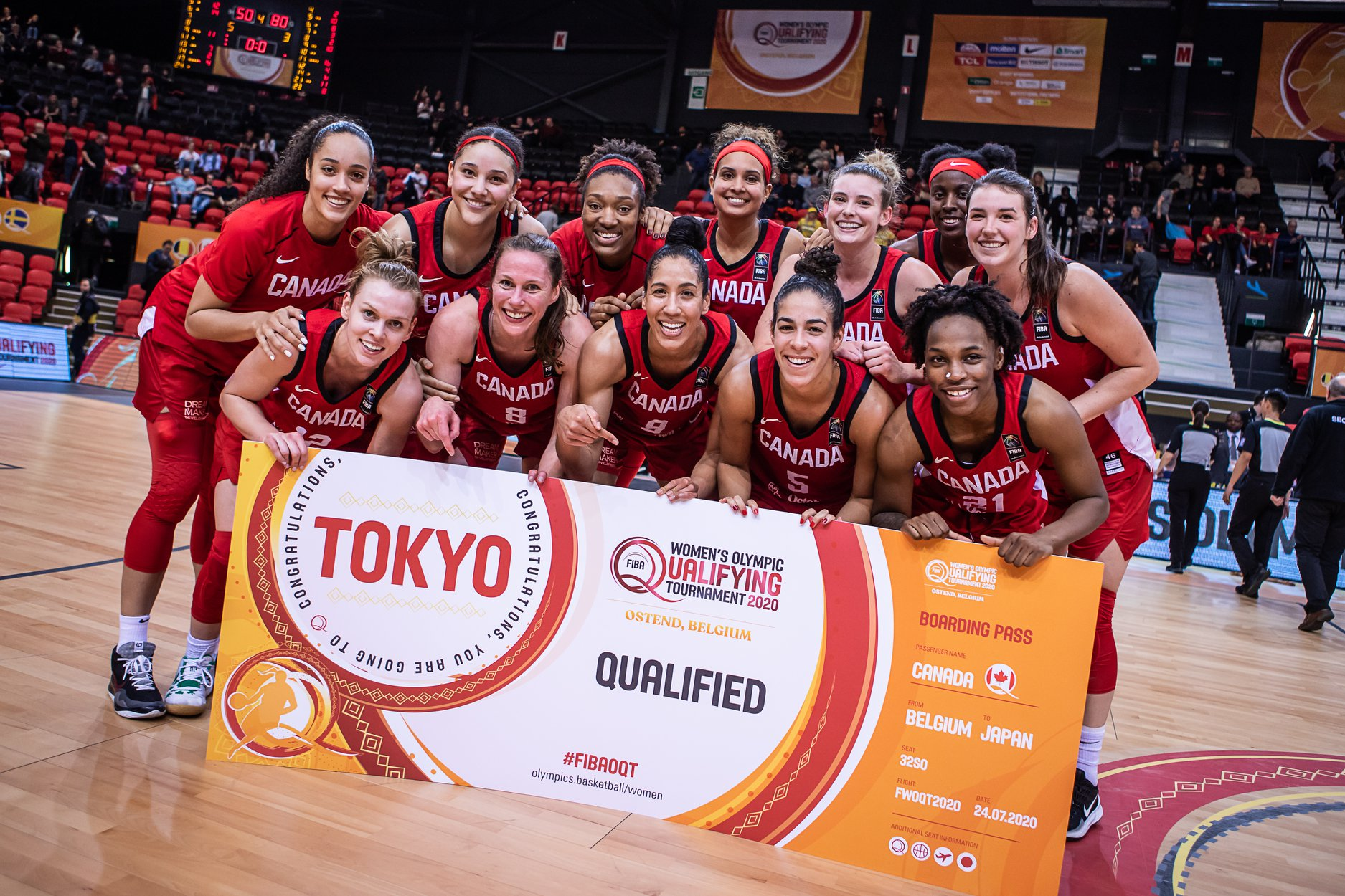 FIBA Women's Olympic Qualifying Tournament - Team Canada