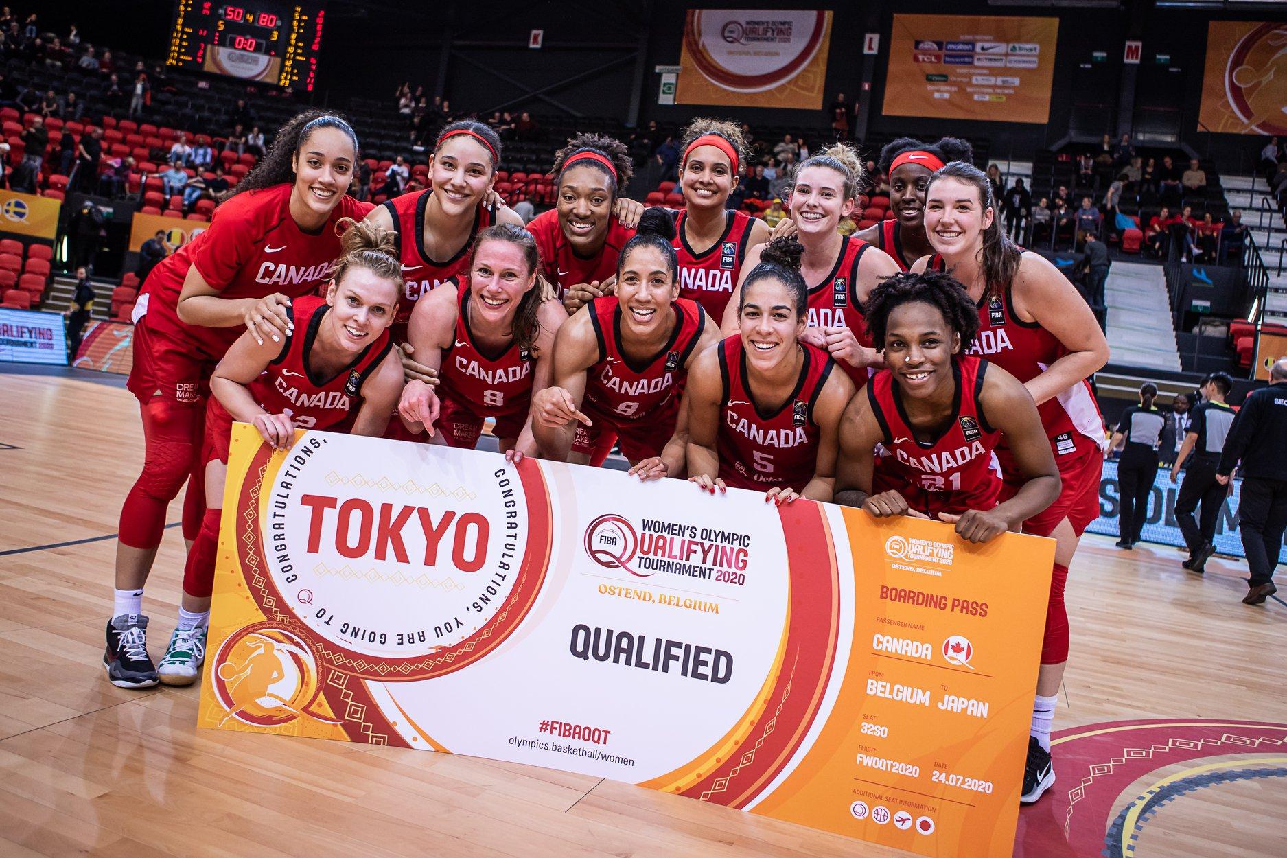 FIBA Women's Olympic Qualifying Tournament - Team Canada